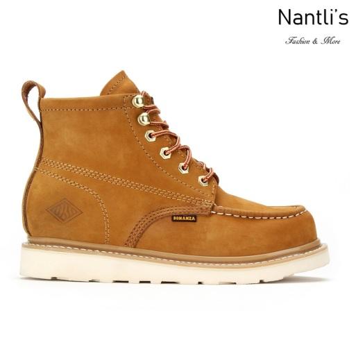 BA630 nubuck tan Botas de Trabajo Mayoreo Wholesale Work Boots Nantlis