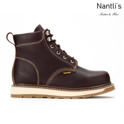 BA642 burgundy Botas de Trabajo Mayoreo Wholesale Work Boots Nantlis