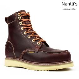 BA829 burgundy Botas de Trabajo Mayoreo Wholesale Work Boots Nantlis