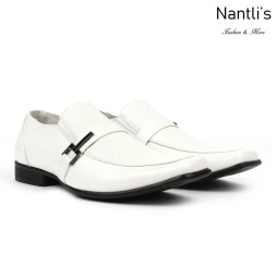 BE-A191 white Zapatos por Mayoreo Wholesale Mens shoes Nantlis Bonafini Shoes