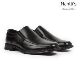 BE-C146 Black Zapatos por Mayoreo Wholesale Mens shoes Nantlis Bonafini Shoes
