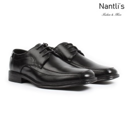 BE-C147 Black Zapatos por Mayoreo Wholesale Mens shoes Nantlis Bonafini Shoes