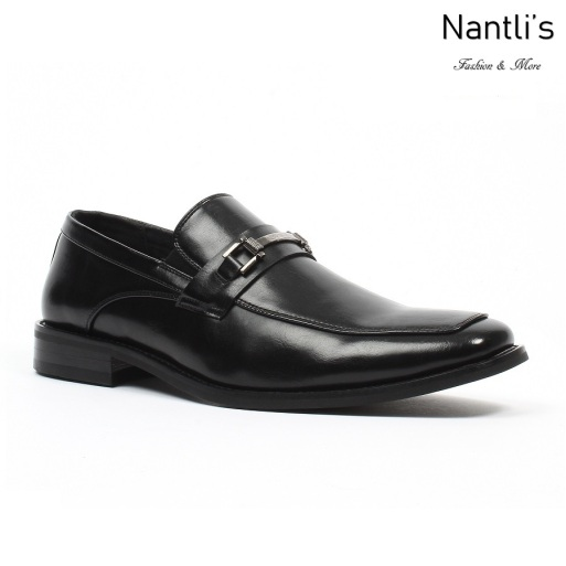 BE-C152 Black Zapatos por Mayoreo Wholesale Mens shoes Nantlis Bonafini Shoes