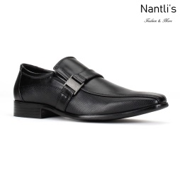 BE-C171 Black Zapatos por Mayoreo Wholesale Mens shoes Nantlis Bonafini Shoes