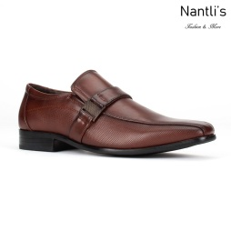 BE-C171 Brown Zapatos por Mayoreo Wholesale Mens shoes Nantlis Bonafini Shoes