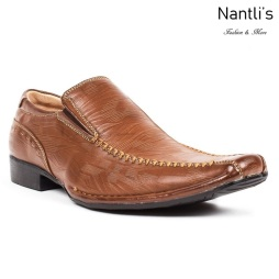 BE-G219 Brown Zapatos por Mayoreo Wholesale Mens shoes Nantlis Bonafini Shoes