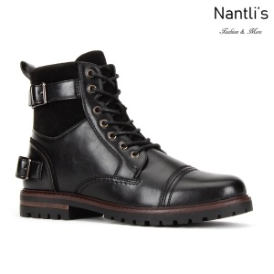 JX-B1912 Black Zapatos por Mayoreo Wholesale mens shoes Nantlis Jaxson Shoes