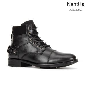 JX-B1913 Black Zapatos por Mayoreo Wholesale mens shoes Nantlis Jaxson Shoes