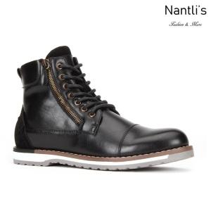 JX-B1915 Black Zapatos por Mayoreo Wholesale mens shoes Nantlis Jaxson Shoes