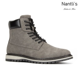 JX-B1916 Grey Zapatos por Mayoreo Wholesale mens shoes Nantlis Jaxson Shoes