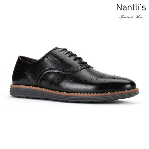 JX-C1905 Black Zapatos por Mayoreo Wholesale mens shoes Nantlis Jaxson Shoes