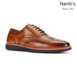 JX-C1905 Cognac Zapatos por Mayoreo Wholesale mens shoes Nantlis Jaxson Shoes