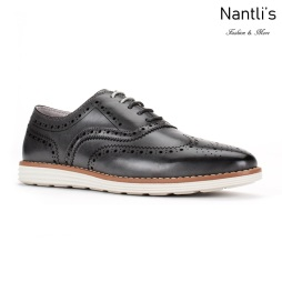 JX-C1905 Grey Zapatos por Mayoreo Wholesale mens shoes Nantlis Jaxson Shoes