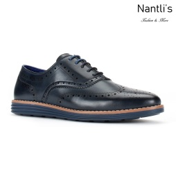 JX-C1905 Navy Zapatos por Mayoreo Wholesale mens shoes Nantlis Jaxson Shoes
