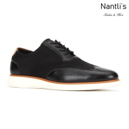 JX-C1909 Black Zapatos por Mayoreo Wholesale mens shoes Nantlis Jaxson Shoes