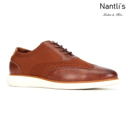 JX-C1909 Brown Zapatos por Mayoreo Wholesale mens shoes Nantlis Jaxson Shoes