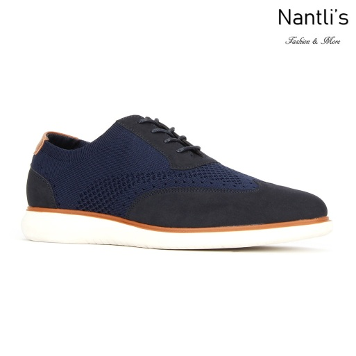 JX-C1909 Navy Zapatos por Mayoreo Wholesale mens shoes Nantlis Jaxson Shoes