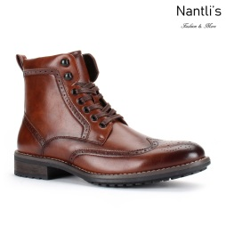 SL-B742 Brown Zapatos por Mayoreo Wholesale mens shoes Nantlis Santino Luciano Shoes