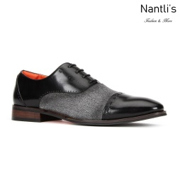 SL-C471 Black Zapatos por Mayoreo Wholesale mens shoes Nantlis Santino Luciano Shoes