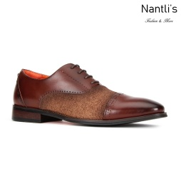 SL-C471 Brown Zapatos por Mayoreo Wholesale mens shoes Nantlis Santino Luciano Shoes