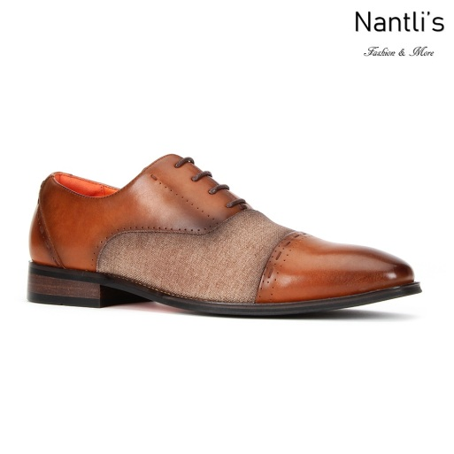 SL-C471 Cognac Zapatos por Mayoreo Wholesale mens shoes Nantlis Santino Luciano Shoes