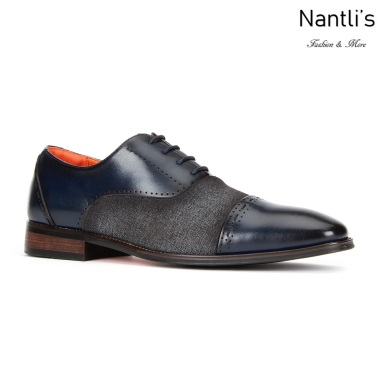 SL-C471 Navy Zapatos por Mayoreo Wholesale mens shoes Nantlis Santino Luciano Shoes