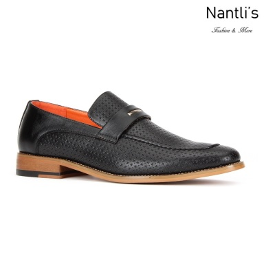 SL-C472 Black Zapatos por Mayoreo Wholesale mens shoes Nantlis Santino Luciano Shoes