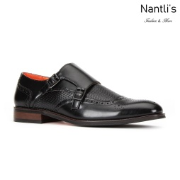 SL-C473 Black Zapatos por Mayoreo Wholesale mens shoes Nantlis Santino Luciano Shoes