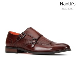 SL-C473 Brown Zapatos por Mayoreo Wholesale mens shoes Nantlis Santino Luciano Shoes