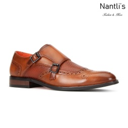 SL-C473 Cognac Zapatos por Mayoreo Wholesale mens shoes Nantlis Santino Luciano Shoes