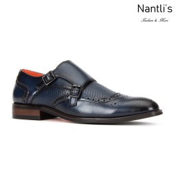SL-C473 Navy Zapatos por Mayoreo Wholesale mens shoes Nantlis Santino Luciano Shoes