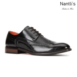 SL-C474 Black Zapatos por Mayoreo Wholesale mens shoes Nantlis Santino Luciano Shoes
