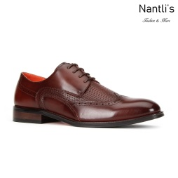 SL-C474 Brown Zapatos por Mayoreo Wholesale mens shoes Nantlis Santino Luciano Shoes