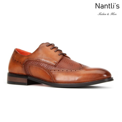 SL-C474 Cognac Zapatos por Mayoreo Wholesale mens shoes Nantlis Santino Luciano Shoes