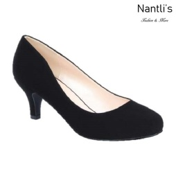 BL-Bertha-18 Black Zapatos de Mujer Mayoreo Wholesale Women Heels Shoes Nantlis