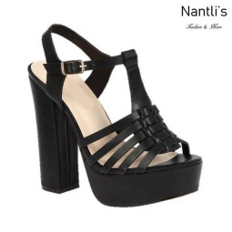 BL-Caroline-13 Black Zapatos de Mujer Mayoreo Wholesale Women Heels Shoes Nantlis