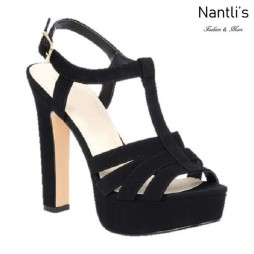 BL-Cecelia-12 Black Zapatos de Mujer Mayoreo Wholesale Women Heels Shoes Nantlis