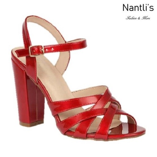 BL-Celina-18 Red Zapatos de Mujer Mayoreo Wholesale Women Heels Shoes Nantlis