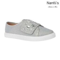 BL-Cherry-44 Silver Zapatos de Mujer Mayoreo Wholesale Women sneakers Shoes Nantlis