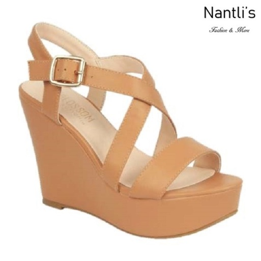 BL-Christy-48 Nude Zapatos de Mujer Mayoreo Wholesale Women Shoes Wedges Nantlis