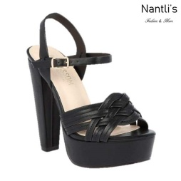 BL-Duncan-3 Black Zapatos de Mujer Mayoreo Wholesale Women Heels Shoes Nantlis
