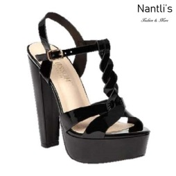 BL-Duncan-4 Black Zapatos de Mujer Mayoreo Wholesale Women Heels Shoes Nantlis
