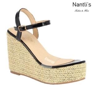 BL-Ella-11 Black Zapatos de Mujer Mayoreo Wholesale Women Heels Shoes Nantlis