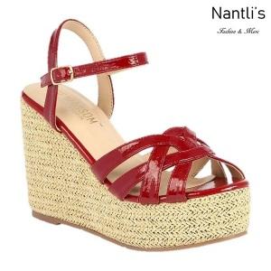 BL-Ella-13 Burgundy Zapatos de Mujer Mayoreo Wholesale Women Heels Shoes Nantlis