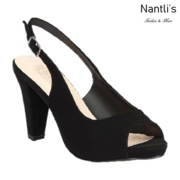 BL-Fay-2 Black Zapatos de Mujer Mayoreo Wholesale Women Heels Shoes Nantlis