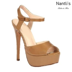BL-Flora-12 Nude Zapatos de Mujer Mayoreo Wholesale Women Heels Shoes Nantlis