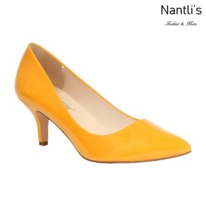 BL-Hurley-23 Mustard Zapatos de Mujer Mayoreo Wholesale Women Heels Shoes Nantlis