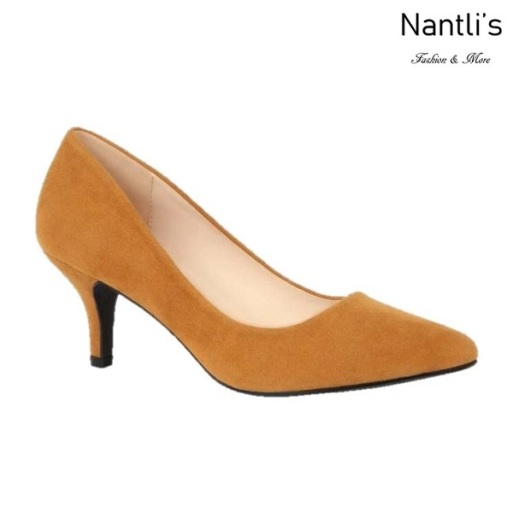 BL-Hurley-s23 Camel Suede Zapatos de Mujer Mayoreo Wholesale Women Heels Shoes Nantlis