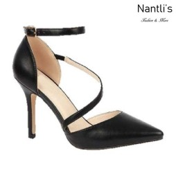 BL-Josie-7X Black Zapatos de Mujer Mayoreo Wholesale Women Heels Shoes Nantlis