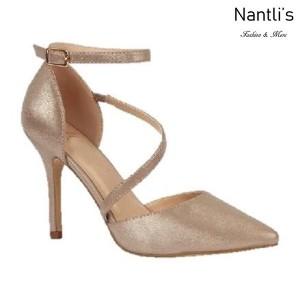 BL-Josie-7X Champagne Zapatos de Mujer Mayoreo Wholesale Women Heels Shoes Nantlis